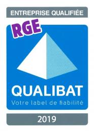 logo qualibat RGE 2019
