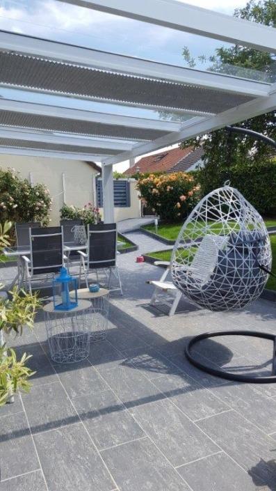installation pergola toiture verre à tournan en brie 77